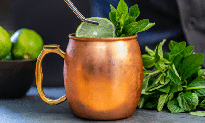 Moscow Mule cocktail recept