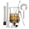 10 delig mixing glass set